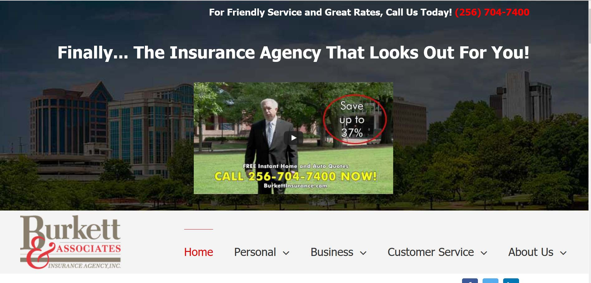 Burkett- Websites for insurance agents